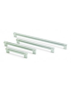 Keyhole 22mm Dia Bar Handles Brushed Nickel
