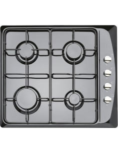 Prima PRGH102 60cm Gas Hob Black Side Controls