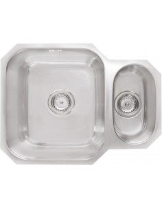 Prima CPR200 1.5 Bowl Undermount Kitchen Sink, Stainless, Reversible