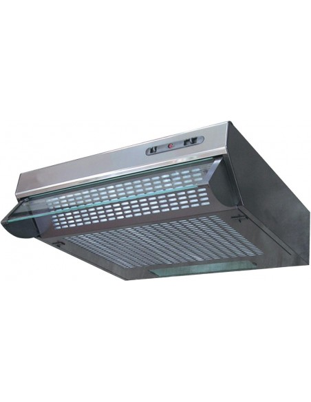 Prima LIA115 60cm Standard Extractor Fan Hood Stainless Steel Trim