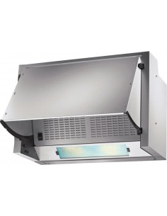 Prima 60cm Integrated Extractor Hood Grey 3 Speed Fan
