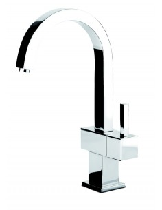 Gessi 935031 Quadro Cold Rinse Kitchen Tap Chrome/Brushed