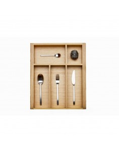 Oak Cutlery Tray Drawer Insert 500mm Depth Blum Systems