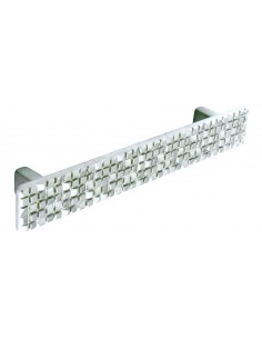 Modern Glitz 'D' Handle Chrome Finish 128mm Centres