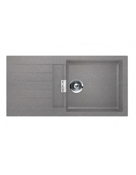 Schock Primus D100L Cristalite+ Kitchen Sink & Waste 1.0 Bowl 5 Colours