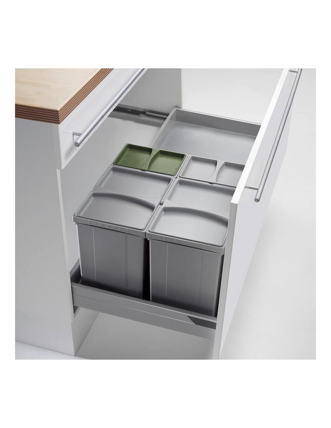 Blum kitchen waste bins besto blog for Kitchen cabinets 500mm depth