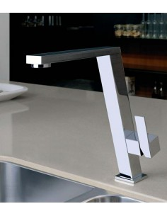 Gessi Incline 17047 Cubist Collection Tilt Modern Mixer Tap