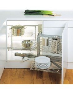 Peka Linea Magic Corner 365-449mm Doors Corner Storage