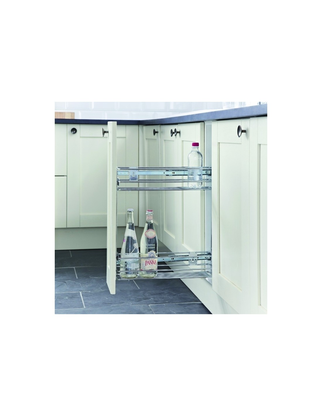 150mm or 200mm base pull outs cabinets east coast kitchens for Kitchen base unit shelf