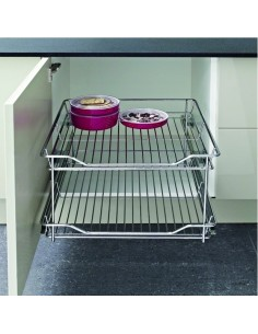 Pull-Out Storage Linear Baskets Side Fixing 300-500mm Widths