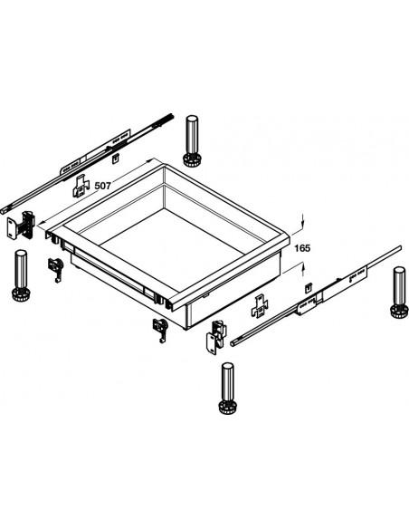Drawer Set Under Single Built In Oven