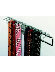 Bedroom Wardrobe Pull Out Tie Rack Chome Finish
