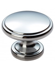 Oxford 38mm Door Knob Satin Nickel