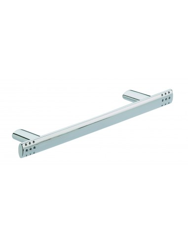 Milina Pull Bar Handles Polished Chrome 128,160,224mm Centres