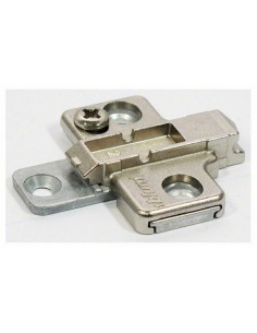 Blum Cruciform Die Cast Adjustable Clip Mounting Plate 0mm