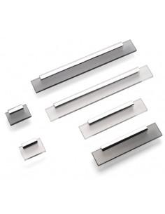 Shard Kitchen Door Handles Modern Pulls Chrome