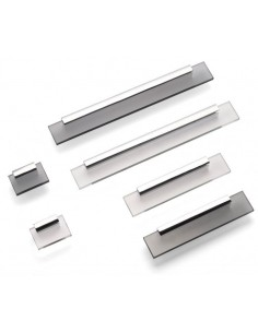 Shard Kitchen Door Handles Modern Pulls Chrome