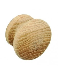 44mm Unfinished Wooden Knob Oak