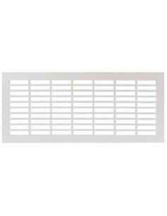 Ventilation Grill 250/500mm x 110mm Recess Mount, Matt Silver
