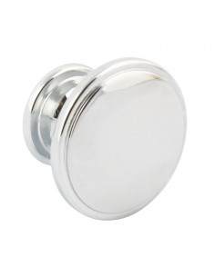 Henriette Door Knobs 38mm Chrome