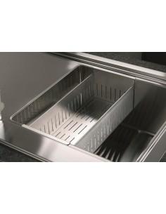 VSH20Q Stainless Steel Modern Square Sink Colander-Strainer