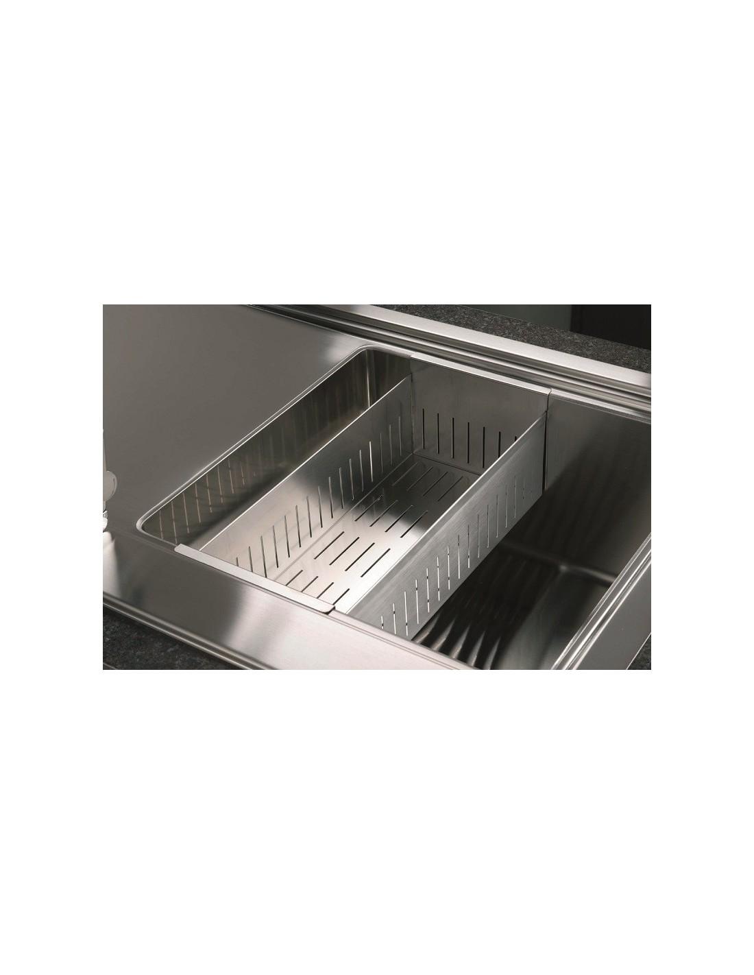 VSH20Q Stainless Steel Modern Square Sink Colander Strainer 20Cm