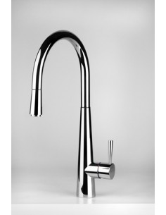 Gessi JUST 20577 Mixer Tap Pull Out Rinse (Without LED)