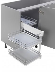 Blind Corner Optimiser Luxury Corner Storage 1000mm