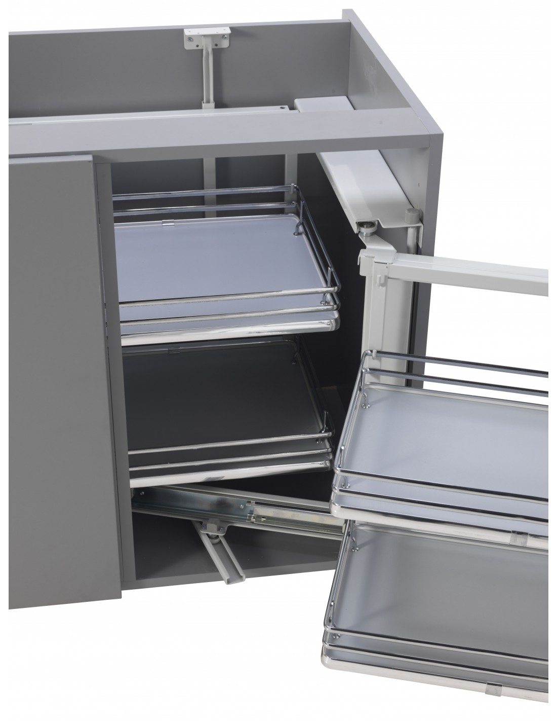 Ip2c09 corner organiser for kitchen corner units solid for Kitchen corner base units 800mm