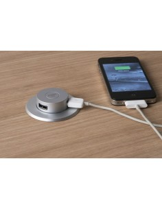 Worktop Pop Up Socket Double USB Chargers