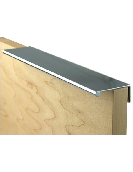 Profile Grip Door Handle 2500mm Length Aluminium Silver