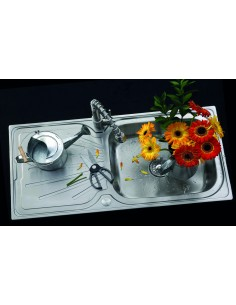 Clearwater Deep Blue Stainless Steel Sink Large Bowl DB10