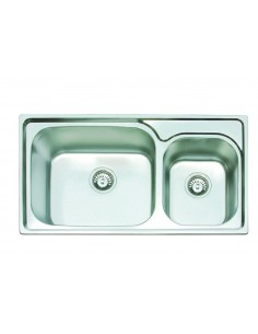 Clearwater GA2035 Ocean 2 Stainless Steel 1.75 Deep Bowl Sink