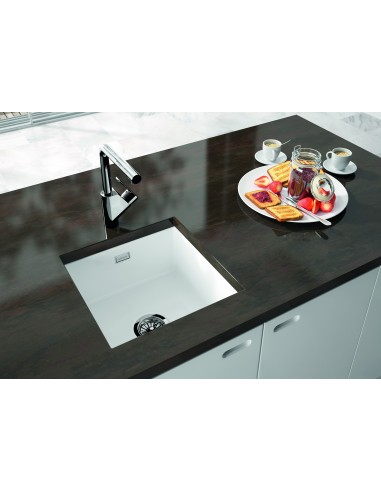 large ceramic kitchen sinks metro by thoms denby met1040 1 0 bowl ceramic sink 6784
