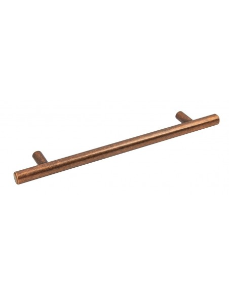Antique Copper Bar Handle 12mm 128 Or 160mm Centres