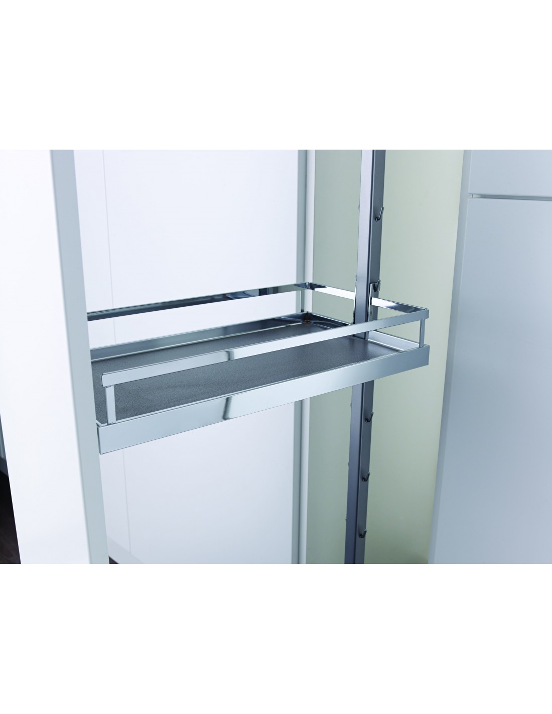 Kessebohmer Quality 300mm Tall Pull Out Larder For Kitchen