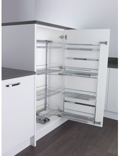 600mm Tandem Larder Kessebohmer Classic Studio 1100mm High +