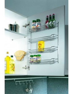 Peka Spice Rack For Wall Units 436mm Wide Framed Doors Or Panels