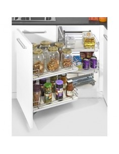 Kitchen Corner Storage Solution Suits 900mm