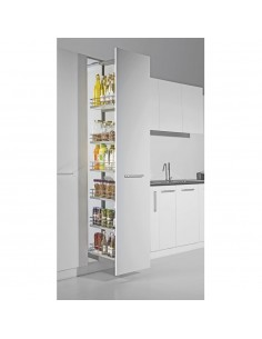 Sestino 500mm Tall Pull Out Larder Studio Height
