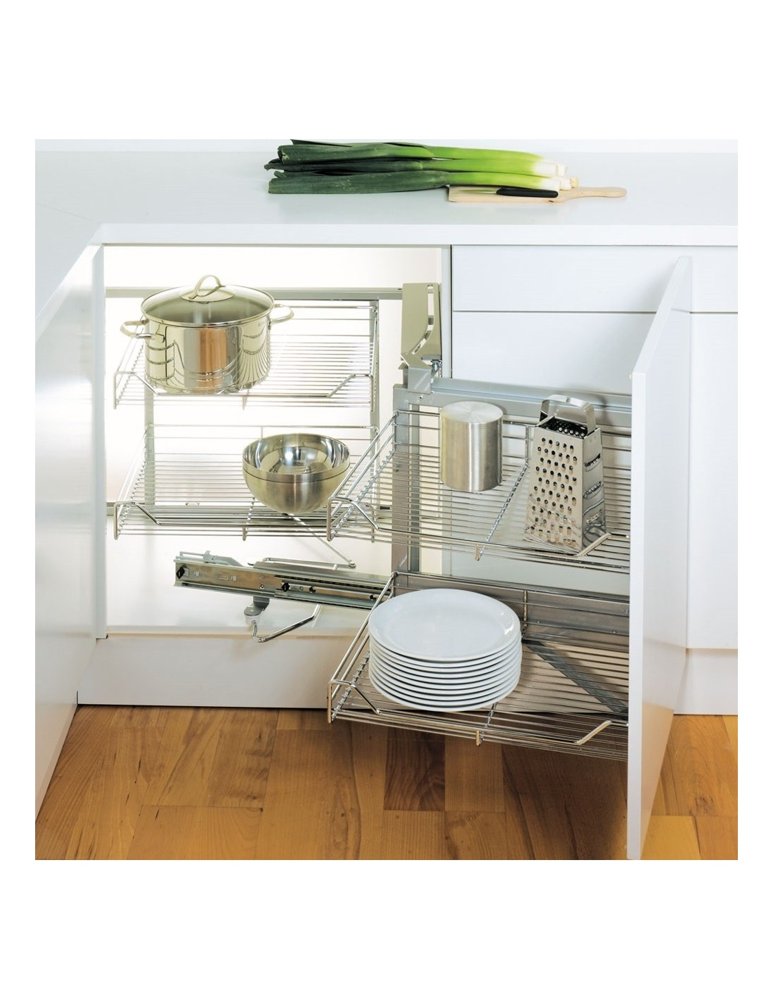 kitchen corner storage unit the original magic corner by peka suits 450mm kitchen 6624