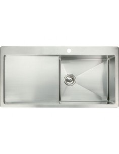 Stainless Steel Square Sink Quality 1.2mm Thick 1.0 Bowl 18/10