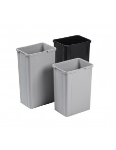 Wesco Kitchen Single Container Waste Bin & Handle 26L, 32L
