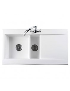 Rangemaster WKIT22 Chrome Waste Kit For Nevada 1.5 Ceramic Sinks