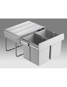 Wesco Shorty Waste Bin Ideal For Sink Bases 30 Litres