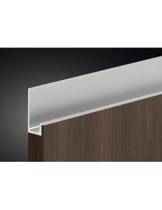 Profile Grip Door Handle 2500mm Length Stainless Steel
