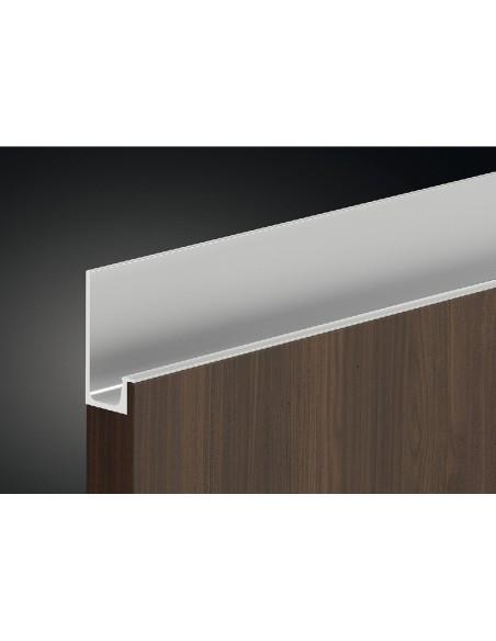 Profile Grip Door Handle 2500mm Length Stainless Steel
