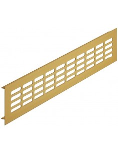 Ventilation Grills 300 x 80mm Silver, Gold, Dark Bronze Recess Mount