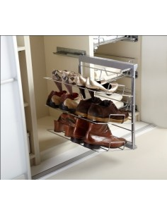 Pull Out Shoe Rack 3 Or 5 Tier Softclose Runners