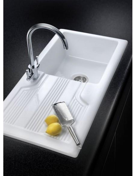 Rangemaster Portland Ceramic Sink 1.0 Bowl